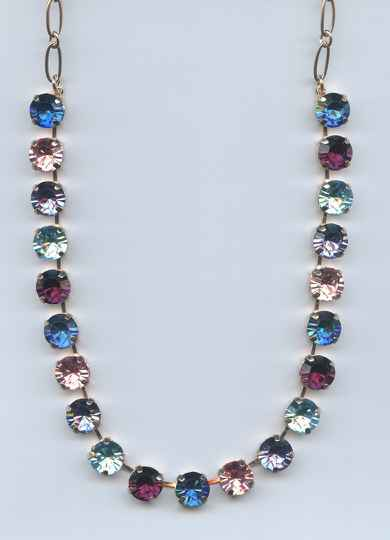 The Sweet Life / Cotton Candy Necklace N-3474-144-RG