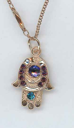 Nature / Peacock Necklace N-5093-2139-RG