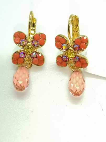 Silk Road / Saffron Earrings E-1241-1047-YG6