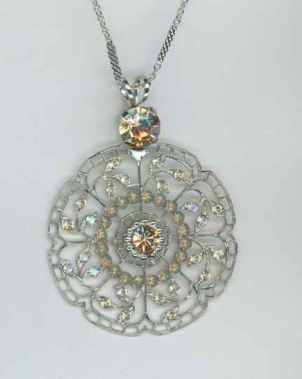 Joy of Life / Peace Necklace N-5210-1125-RG