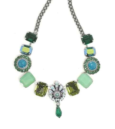 Silk Road / Jade Necklace N-3014/1 1051 SP