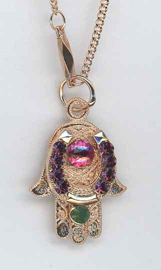 Inspiration / Luck Necklace N-5093-1033-RG