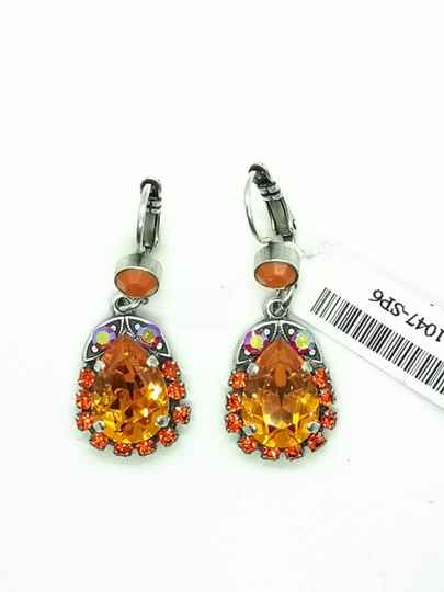 Silk Road / Saffron Earrings E-1032/5-1047-SP6