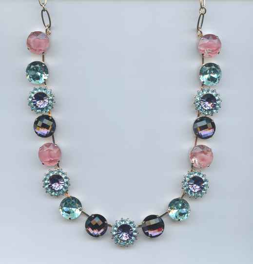 The Sweet Life / Cotton Candy Necklace N-3016-144-RG