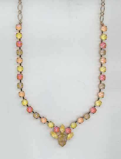 Sunkissed Necklace N-3504/4-136-1-RG