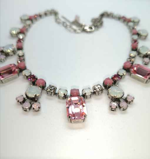 Silk Road / Cherry Blossom Necklace N-3233-1046-SP