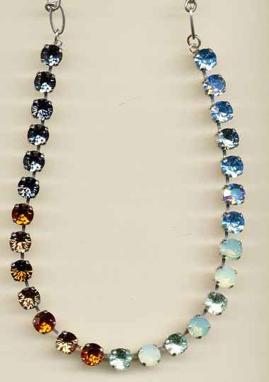 Africa / Forget Me Not Necklace N-3252-1329-RG