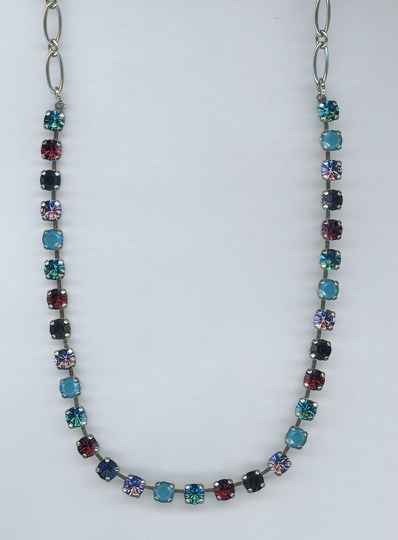 Nature / Peacock Necklace N-3430-2139-RG