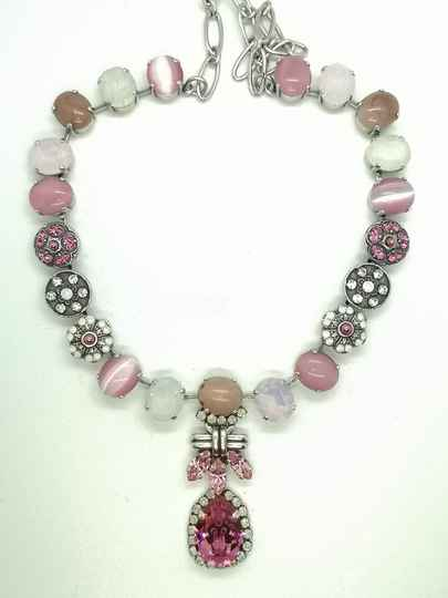 Silk Road / Cherry Blossom Necklace N-3023/4-1046-SP