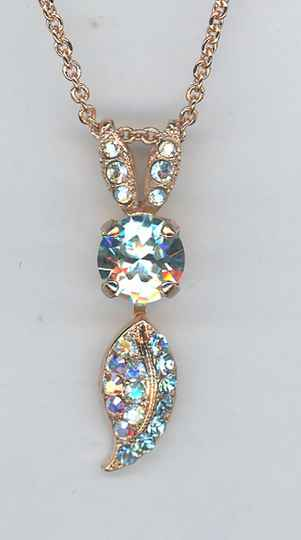 The Sweet Life / Italian Ice Necklace N-5143-141-RG