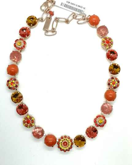 Inspiration /  Strength Necklace N-3246/3-1031-RG