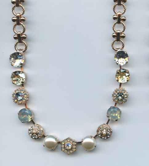 Nature / Seashell Necklace N-3411 M39111 RG