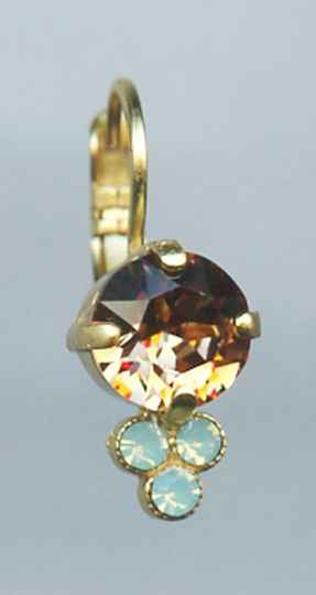 Africa / Forget Me Not Earrings E-1010-1329-RG6