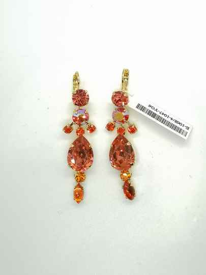 Silk Road / Saffron Earrings E-1068/4-1047-YG6