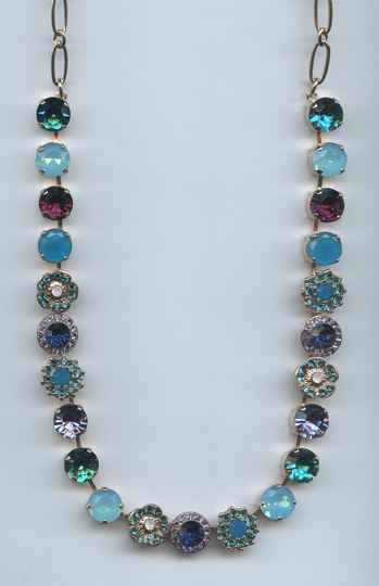 Nature / Peacock Necklace N-3045/1-2139-RG