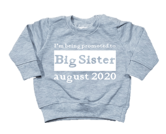 Trui l Promoted to Big Sis