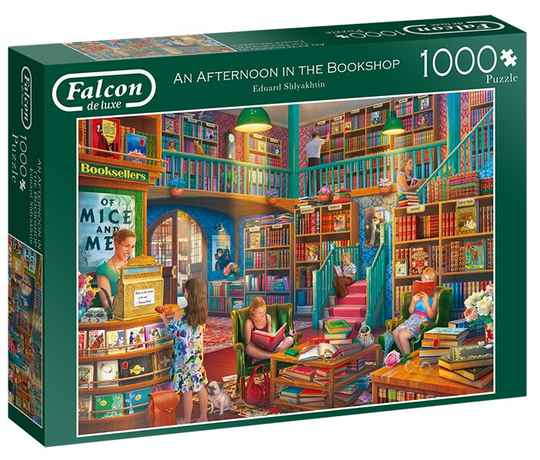 Puzzel An Afternoon in the Bookshop