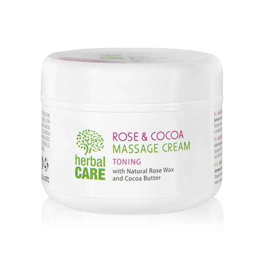 Toning massage cream Rose & Cocoa