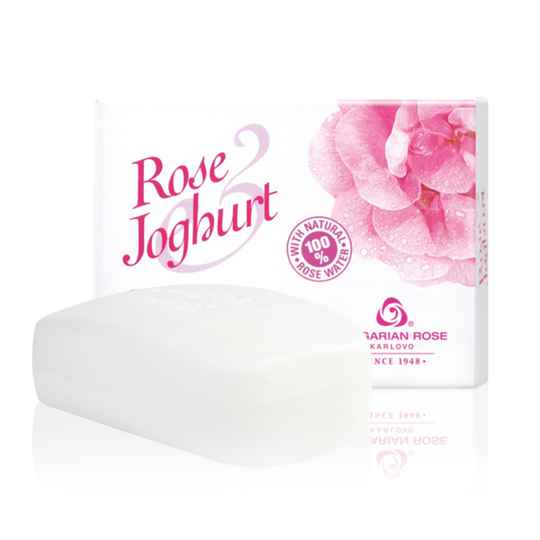 Cream soap Rose Joghurt
