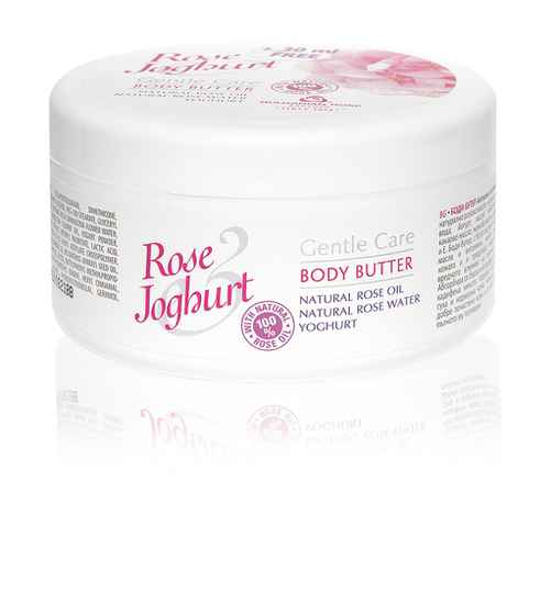 Body butter Rose Joghurt