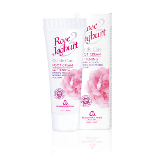Softening foot cream Rose Joghurt