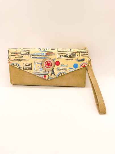 NEW! ⭐️ Wallet Giuliano Canada Beige