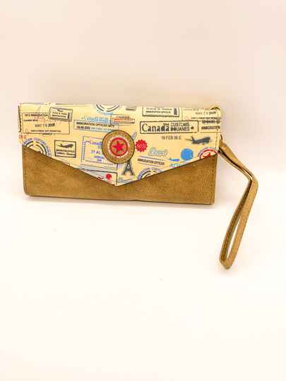 NEW! ⭐️ Wallet Giuliano Canada Khaki