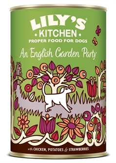LILY'S KITCHEN DOG AN ENGLISH GARDEN PARTY 6X400 GR