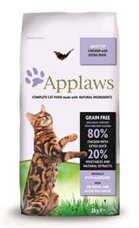 APPLAWS CAT ADULT CHICKEN / DUCK 400GR OF 2KG