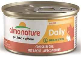 ALMO DAILY MENU MOUSSE MET ZALM 85 GR OF 24 X 85GR