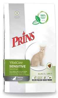 PRINS CAT VITAL CARE ADULT SENSITIVE HYPO ALLERGEEN 1.5KG OF 5KG