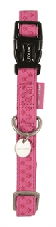 MACLEATHER HALSBAND ROZE 15MM / 20MM / 25MM