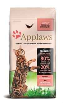 APPLAWS CAT ADULT CHICKEN / SALMON 400GR of 2KG