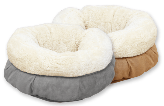 AFP LAMSWOLLEN MAND DONUT BED