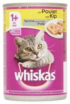WHISKAS ADULT PATE KIP