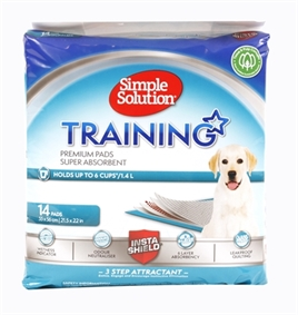 SIMPLE SOLUTION PUPPY TRAINING PADS 14 ST 54X57 CM