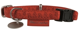 MACLEATHER HALSBAND ROOD 15MM / 20MM / 25MM