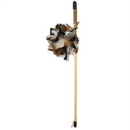 JOLLY MOGGY NATURAL WILD KATTENHENGEL FEATHER 106 CM