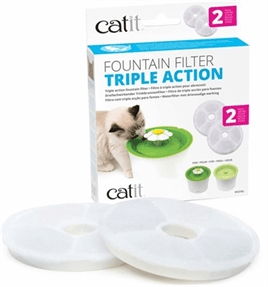 HAGEN CATIT TRIPLE ACTION FILTER 2 STUKS