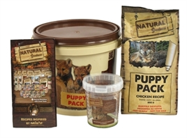 NATURAL GREATNESS PUPPY PACK CHICKEN RECIPE GRAANVRIJ