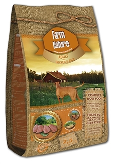 FARM NATURE CHICKEN / RICE 2,5 KG / 12.5KG / 18KG