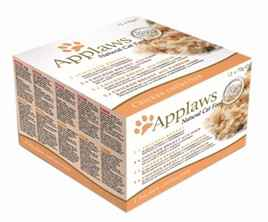 APPLAWS CAT BLIK ADULT MULTIPACK CHICKEN SELECTION 12X70 GR VOORDEELPAK