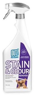 OUT! STAIN & ODOUR REMOVER 750 ML