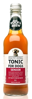 WOOF&BREW SENIOR HERBAL TONIC 330 ML OP=OP