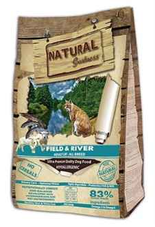 NATURAL GREATNESS FIELD & RIVER HYPO ALLERGEEN GRAANVRIJ 600 GR 2KG OF 6KG