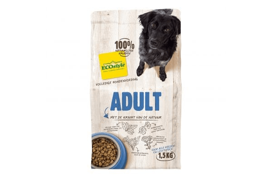 ECOSTYLE HOND ADULT 12 KG