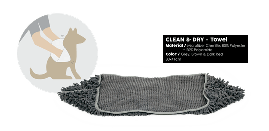 51 DEGREES NORTH CLEAN&DRY TOWEL 80X41CM