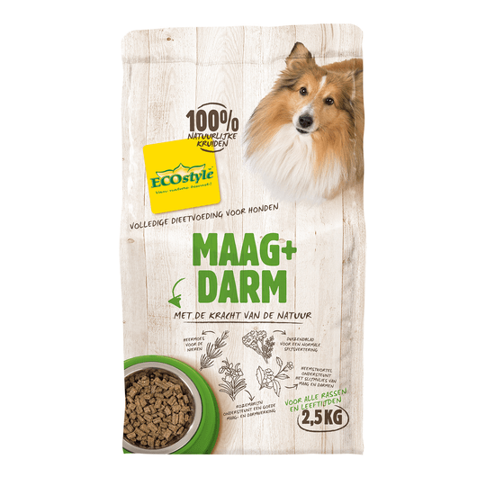 ECOSTYLE HOND ADULT MAAG&DARM 12 KG