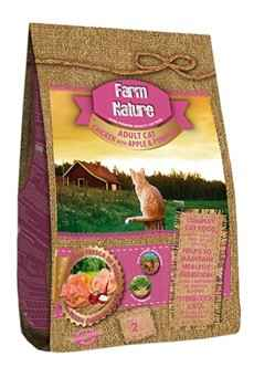 FARM NATURE CAT ADULT CHICKEN / APPLE / PUMPKIN 2KG OF 18 KG