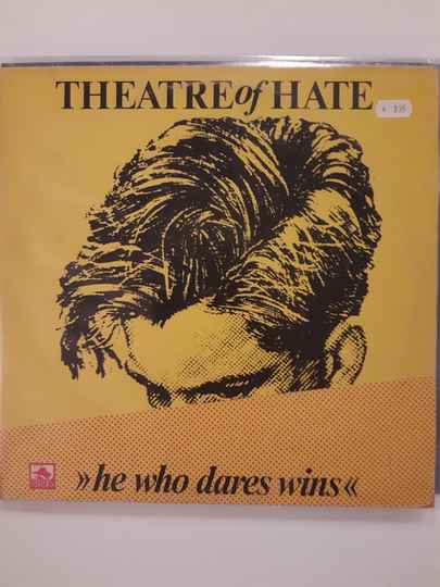 LP Theatre of hate - He who dares wins -Live in Berlin